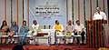 M. Venkaiah Naidu addressing the inaugural function on newly constructed studio complex of All India Radio and Doordarshan Kendra Dehradun & launching of Regional News Unit Dehradun, DD News, at Dehradun.jpg
