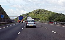 M5 southbound towards Court Hill (geograph 3638224).jpg