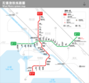 MAP FOR WUXI METRO