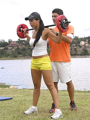 Personal trainer - Personal training outdoors