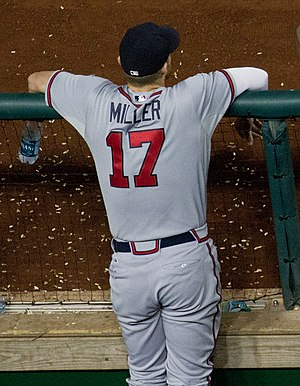 Shelby Miller - Miller during his tenure with the Atlanta Braves in 2015