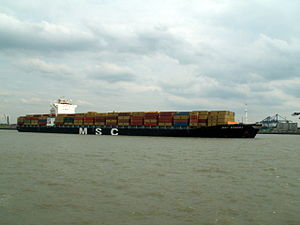 MSC Sandra pic1, at Port of Antwerp, Belgium 20-May-2005.jpg