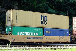 Mediterranean Shipping Company - MSC container