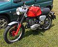 MZ 250cc. Unusual single seat & large fuel tank - Flickr - mick - Lumix.jpg