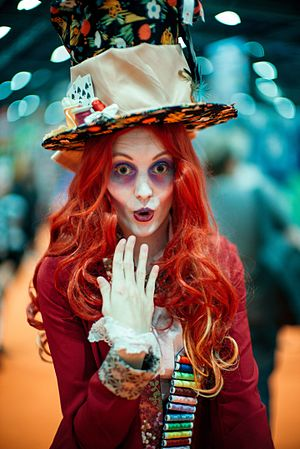 Hatter (Alice's Adventures in Wonderland) - Mad Hatter Cosplay