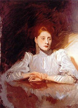 Paul César Helleu - Madame Helleu, John Singer Sargent, c. 1889