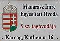 Madarász Imre Egyesített Óvoda 5. sz. tagóvodája, 2018 Karcag.jpg