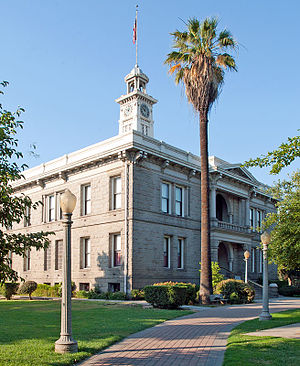 National Register of Historic Places listings in Madera County, California - Image: Madera County Courthouse June 2006