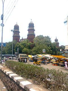 George Town, Chennai Neighbourhood in Chennai District, Tamil Nadu, India