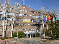 Madrid - Campus de la Universidad Autónoma de Madrid (UAM)-Rectorado 1.JPG