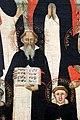 Maestro delle effigi domenicane, tavola del beato maurizio d'ungheria (santi e beati domenicani al cospetto di gesù e maria in trono), 1335-40 ca. 08.jpg