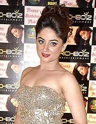 Mahhi Vij Indian model and actress