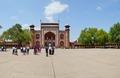 Main Gateway with Forecourt - Southern View - Taj Mahal Complex - Agra 2014-05-14 3743-3752.TIF