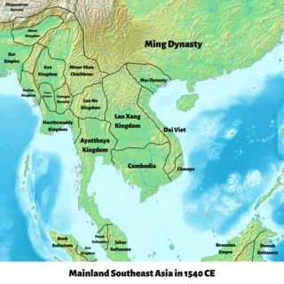 Lan Xang Kingdom in Southeast Asia from 1353 to 1707