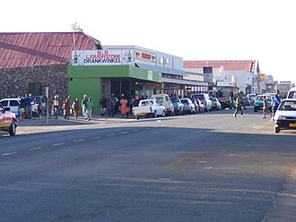 Mariental, Namibia - Mariental Main Street