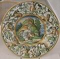 Maiolica di urbino, vecchio con un vaso, 1550-90 ca..JPG