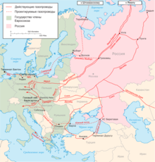 Major Russian Gas Pipelines to Europe RU.png