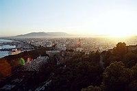 Malaga Sonnenuntergang2004.jpg