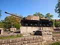Malbork, ISU-122 self propelled gun - panoramio.jpg