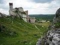 Malownicze ruiny zamku królewskiego z 1349r. - panoramio.jpg