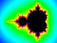 Mandelbrot set rainbow colors.png