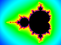 Mandelbrot set rainbow colors.png