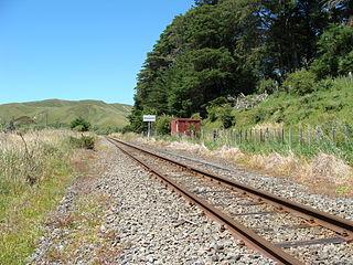 Mangamahoe railway station railway station