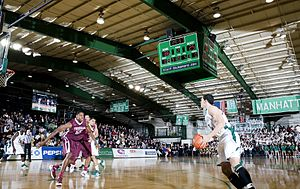Manhattan Jaspers basketball - Manhattan College vs. Fordham University
