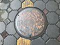 Manhole cover of Yamaguchi, Yamaguchi 3.jpg