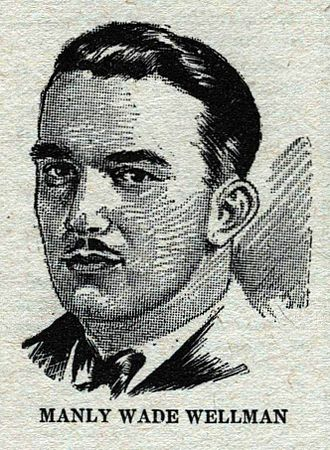 Manly Wade Wellman - Manly Wade Wellman, as depicted in Wonder Stories in 1931