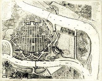 Mannheim - Mannheim in 1758