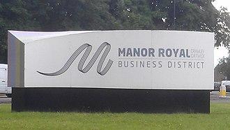 Manor Royal - Image: Manor Royal