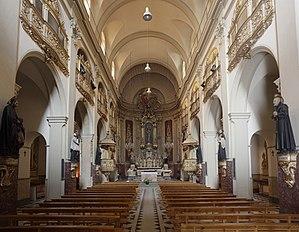 Cave of Saint Ignatius - Image: Manresa, Cova de Sant Ignasi PM 58599
