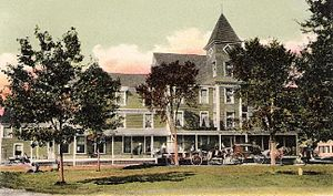 Lancaster, New Hampshire - Mansion House in 1907