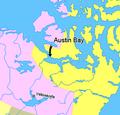 Map indicating Austin Bay, Nunavut, Canada.png