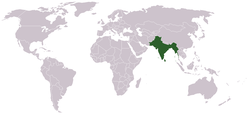 The British Raj in 1936