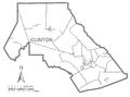 Map of Clinton County, Pennsylvania No Text.png