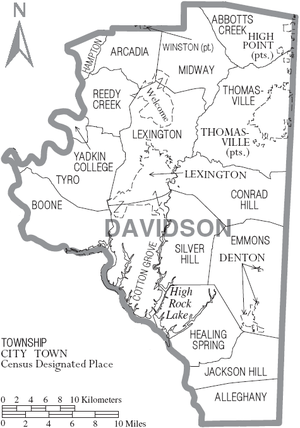 Davidson County, North Carolina   Wikipedia