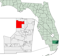 Map of Florida highlighting Coral Springs.png