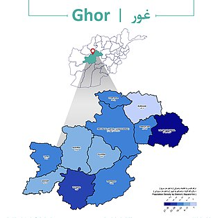 Marghab District District in Ghor Province, Afghanistan