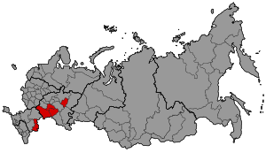 Map of Russia - Samara time zone.svg