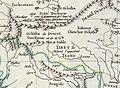 Map of Tibet in 1798, from- Map China c1798 (cropped).jpg
