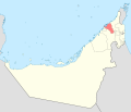 Map of Umm al-Qaiwain blank.svg