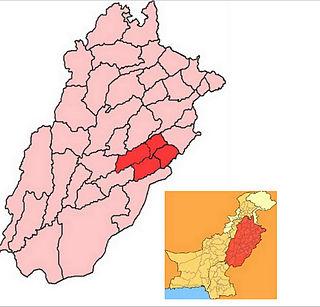 Division in Punjab, Pakistan