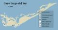 Mapa de Cayo Largo.png