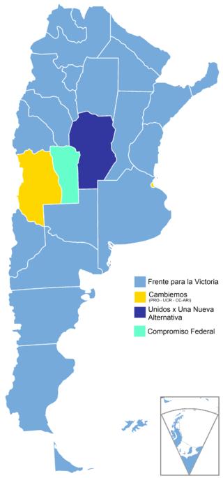 Elecciones primarias de Argentina de 2015