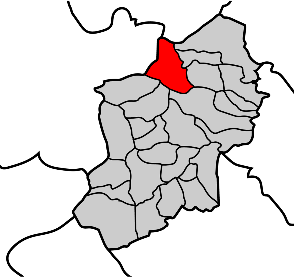 Mapa parroquia de Fontarón