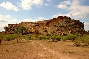 South Africa - Mapungubwe Hill, the site of the former capital of the Kingdom of Mapungubwe