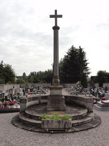 Marainviller (M-et-M) croix de cimetière