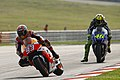 Marc Márquez and Valentino Rossi 2014 Sepang 3.jpeg